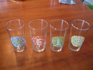 VeloSoleX glas samlingen.