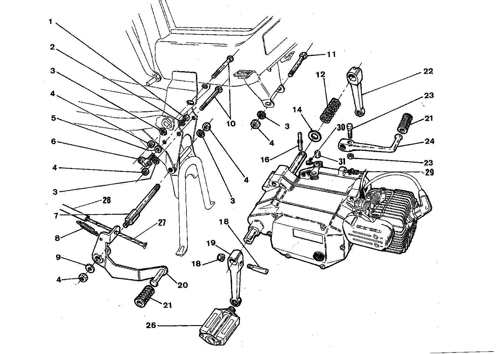 Montering motor model Tenor S4