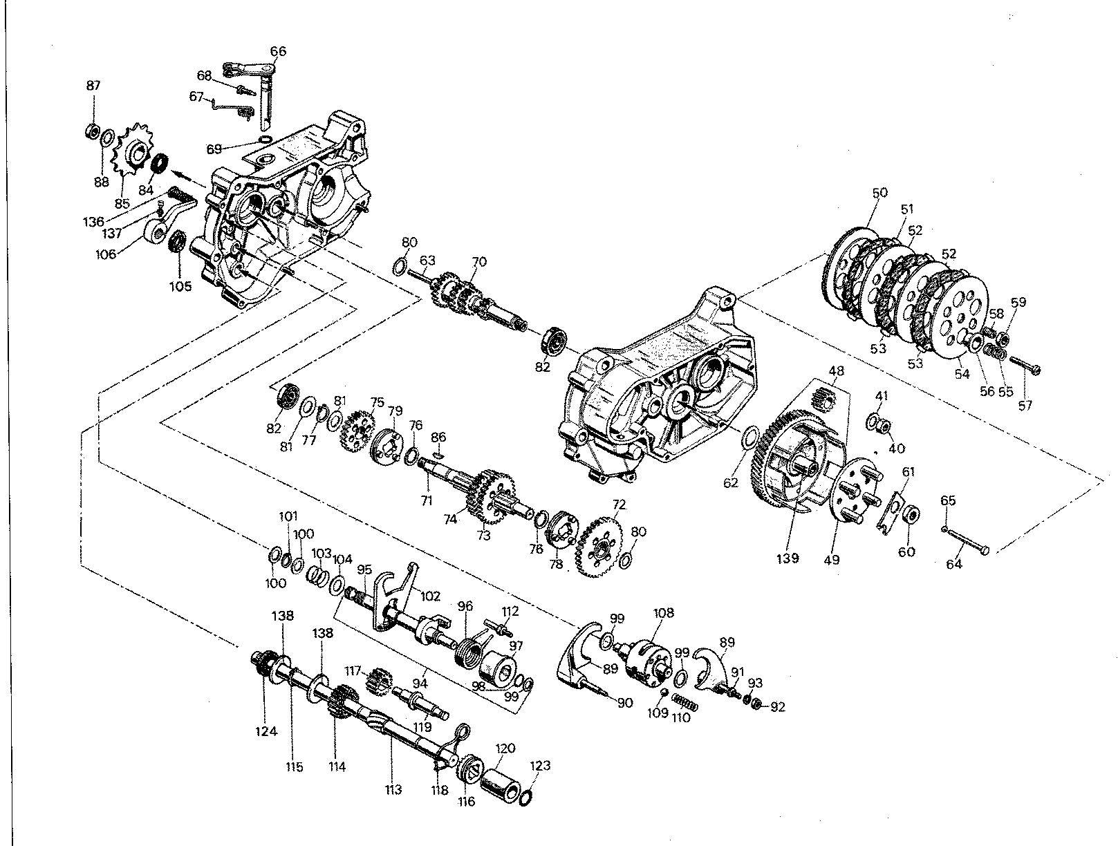 Motor Franco Morini model Tenor S4