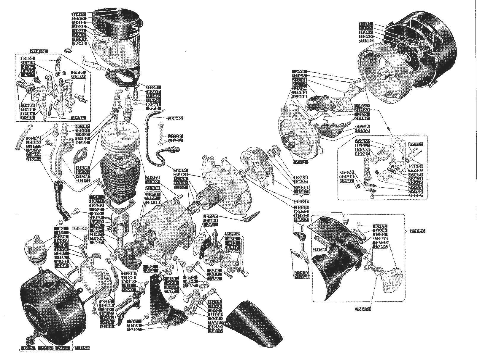 Motor model 2200