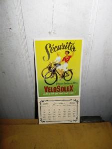 Original Sécurite kalender årgang 2006, aldrig brugt, Så derfor stadig komplet.
