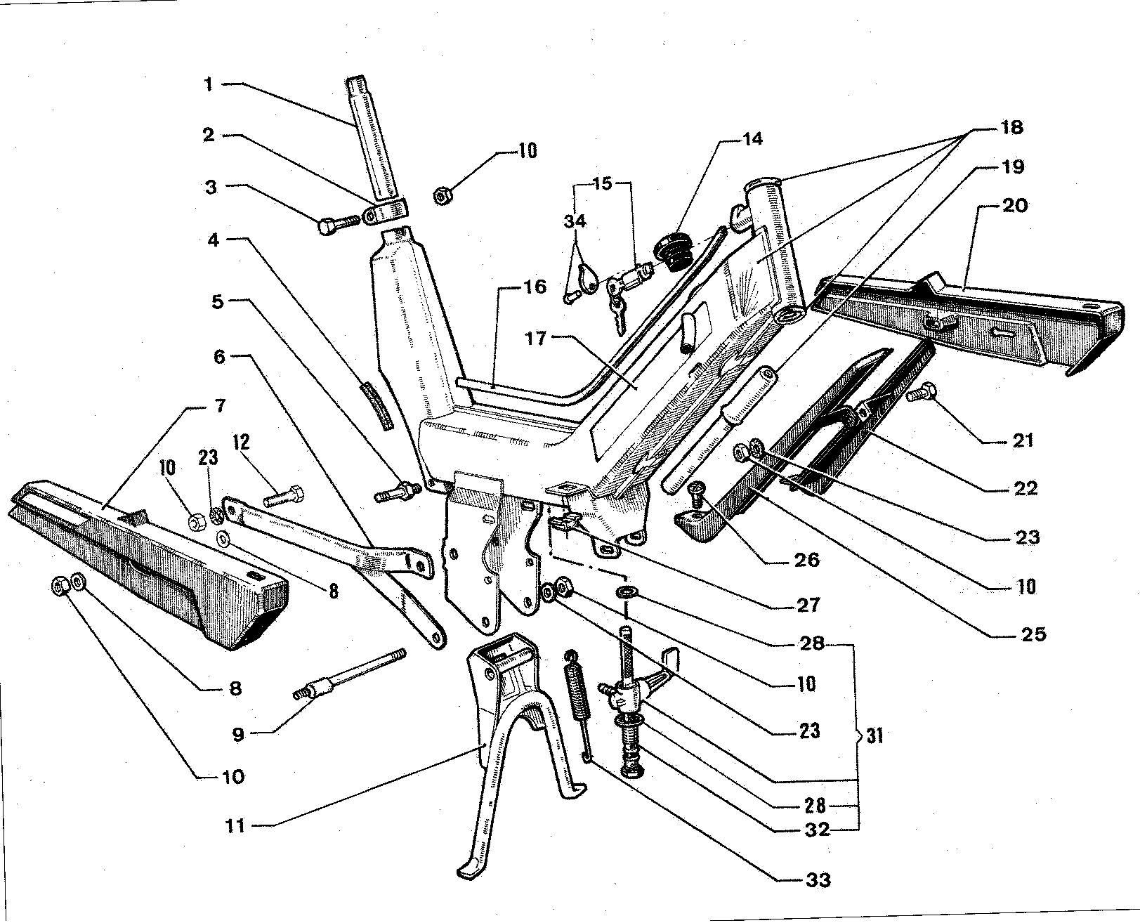 Stel model Tenor S4