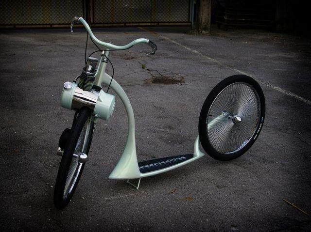 Luksus løbehjul.