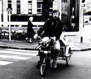 VeloSoleX trehjulet.